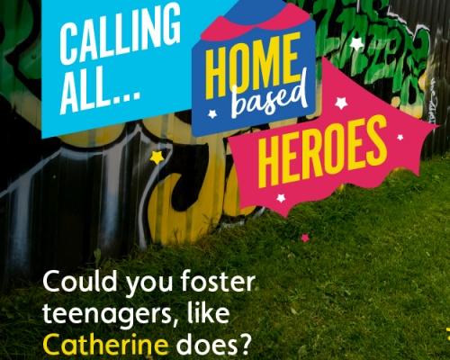 Home Based Heroes Scenario #1 Teenagers - Preview Thumbnail